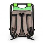 Camco Folding Camping Stool Backpack Cooler Trio - Green  NT03-2230  - Camping and Lifestyle - RV Part Shop USA