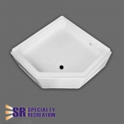 Specialty Recreation Neo Shower Base 27X27 Front Center Drain   NT10-1876  - Tubs and Showers - RV Part Shop USA
