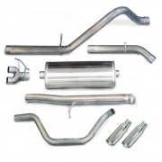 Corsa Exhaust 10 SILV SIERRA EXT CAB S  NT79-0383  - Exhaust Systems - RV Part Shop USA