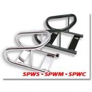 Phoenix USA Chrome Motorcycle Wheel Chock  NT99-0173  - RV Storage - RV Part Shop USA