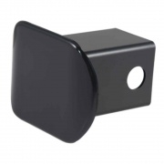 """Curt Manufacturing 2\\"""" Black Plastic Hitch Tube Cover (Packaged)  NT72-1750  - Receiver Covers - RV Part Shop USA"""
