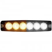 Buyers Products LIGHT,STROBE,5-1/8IN,6-LED,AMBER/CL  NT62-2336  - Emergency Warning - RV Part Shop USA