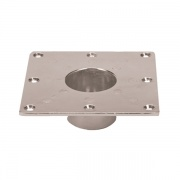 Faulkner RECESSED BASE-SQUARE  NT72-6196  - Hardware - RV Part Shop USA