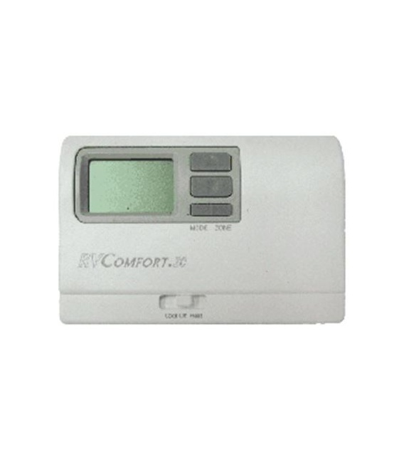 Digital Zoned Thermostat White (P)