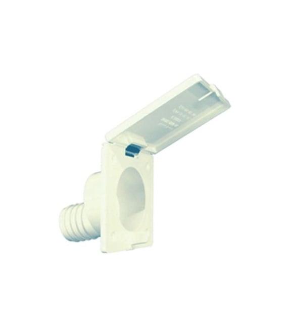 """Water Fill Spout Polar White 1-3/8"""""""