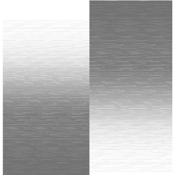 Fiesta Springload Awning Roller/Fabric Silver Fade 12'