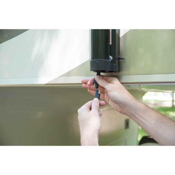 "Buy Lippert 351396 Power Awning Hardware, Speaker Head, Flat (69"" Arms)"