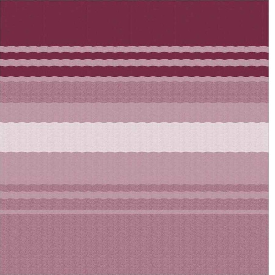 Buy By Carefree Power Awning Roller/Fabric Standard Vinyl Bordeaux Stripe