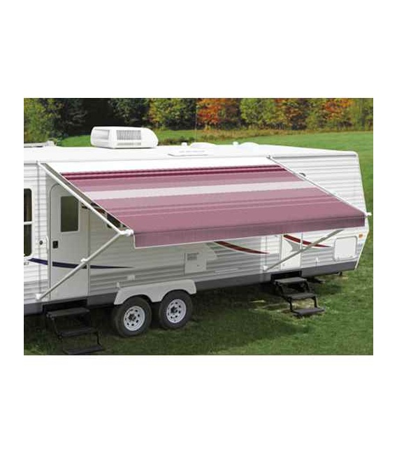Fiesta Springload Awning Awning Bordeaux Stripe 16'