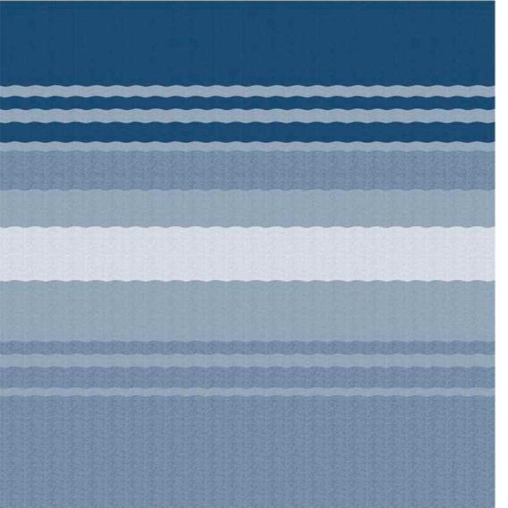 Fiesta Springload Awning Awning Ocean Blue Stripe 20'