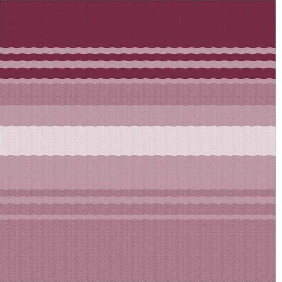"""CampOut Bag Awning 11'6"""" Bordeaux Stripe"""