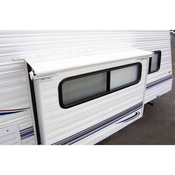 """Buy Carefree LH0730042 Slideout Cover Awning 77"""" White - Slideout Awning"""