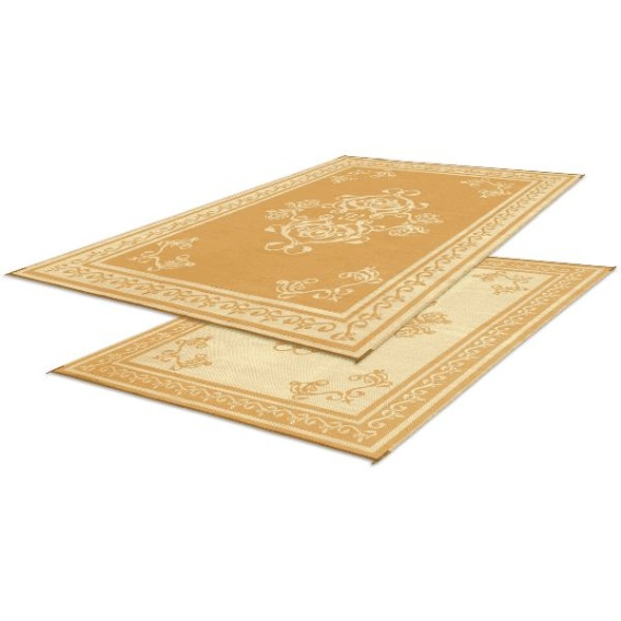 Buy Faulkner 48450 Patio Mat Monte Carlo 9X12 Beige - Camping and