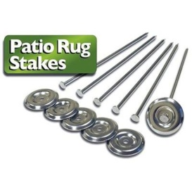 Buy Prest-O-Fit 2-2001 Patio Rug Stakes 6 Pack - Camping and Lifestyle