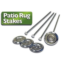 Buy Prest-O-Fit 2-2000 Patio Rug Stakes 4 Pack - Camping and Lifestyle