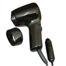 Buy Prime Products 12-0312 12 Volt Hair Dryer/Defroster Black - Laundry