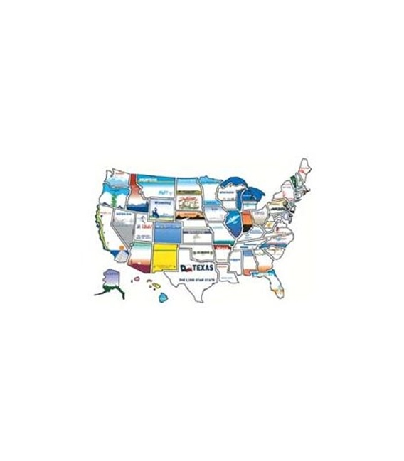 Buy State Stickers 800 50 State Sticker Map - Games Toys & Books Online|RV