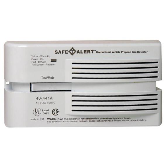 Buy Safe-T-Alert 40-441-P-WT LP Gas Alarm Surface Mount - Safety and