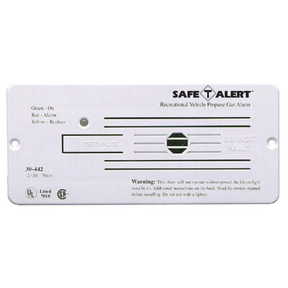 Buy Safe-T-Alert 30-442-P-WT Classic LP Gas Alarm Flush Mount White -