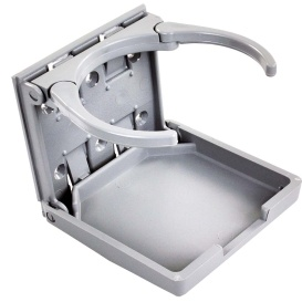 Buy JR Products 45622 Adjustable Drink Holder Gray - Tables Online RV Part