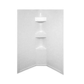 Buy Lippert 306204 White Slate 34X34X64 Neo Tile Shower Surround - Tubs