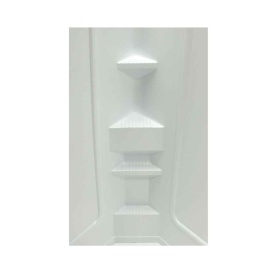 Buy Lippert 210324 32X32X68 Neo Hex Shower Surround - Tubs and Showers