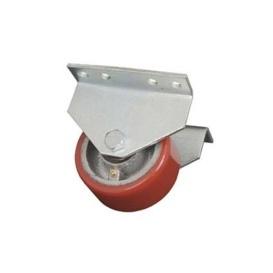 """Buy Ultra-Fab 48-979015 Hitch Mount 4"""" Rigid Skid Wheel - Skid Wheels"""