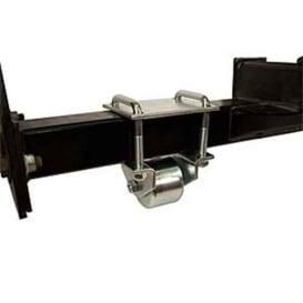 """Buy Ultra-Fab 48-979018 Hitch Mount Steel Roller 3"""" - Skid Wheels"""