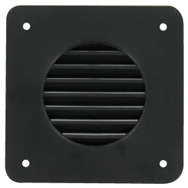 Battery Box Louver Black Bulk