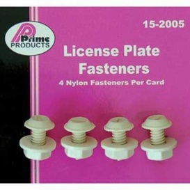 License Plate Fasteners