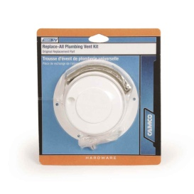 Buy Camco 40033 Replace All Plumbing Vent Kit (Polar White) - Plumbing
