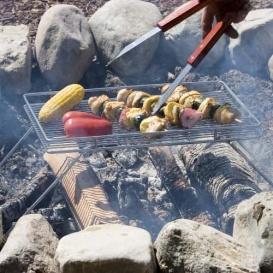 Buy Campfire Grill 490018 The Explorer Campfire Grill - RV Parts Online|RV