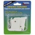 Awning Hangers Pkg/7 White