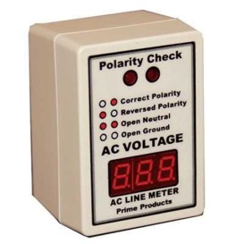 Buy Prime Products 12-4058 AC Line Monitor/Polarity Tester - Tools