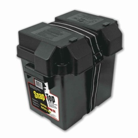 Snap-Top Battery Box 6V Single