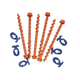 Buy Fasteners Unlimited PP1021 6Pk 20Cm Standard Peggy Pegs - Camping and