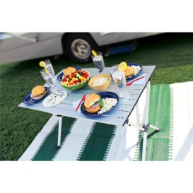 Buy Camco 51892 Roll-Up Table Aluminum - Camping and Lifestyle Online|RV