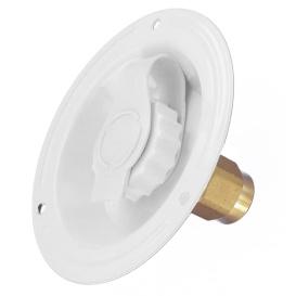 Recess Water Inlet White Bulk-Lf