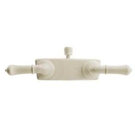 Classical Shower Faucet Bisque