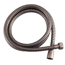 """60"""" Stainless RV Shower Hose Oil Rubbed Bronze"""