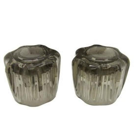 Buy Dura Faucet DF-RKS Smoked Acrylic lic Knobs - Faucets Online|RV Part