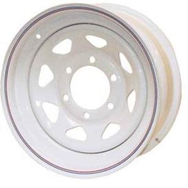 15X6 Trailer Wheel Spoke 6H-5.5 Galvanized
