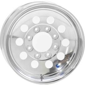 15X6 Trailer Wheel Mini Modular 5H-4.5 Aluminum