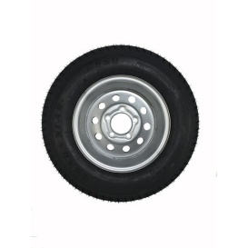 175/80D13 Tire C/5H Trailer Wheel Mini Modular Silv