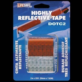 Buy Top Tape RE2125 Reflective Tape Red/Silver - Towing Electrical