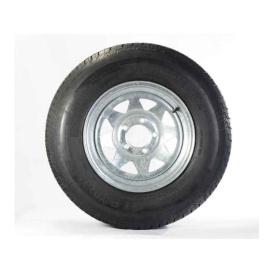 Buy Americana 3S650 ST205/75D Tire15 C/5H Trailer Wheel Spoke Gal -