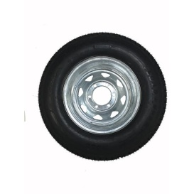 ST225/75D Tire 15 D/6H Trailer Wheel Spoke Gal