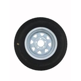 175/80R13 C/5H Trailer Wheel Spoke White Striped