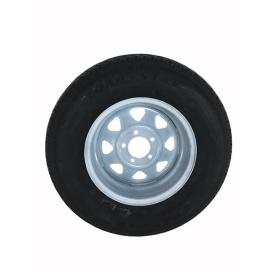 Buy Americana 32153 205/75R14 Tire C/5H Trailer Wheel Spoke White Striped