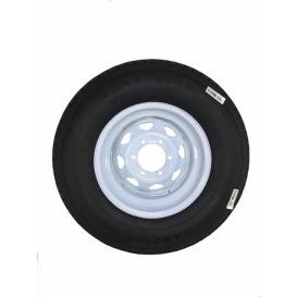 Buy Americana 32664 225/75R15 Tire D/6H Trailer Wheel Spoke White Striped